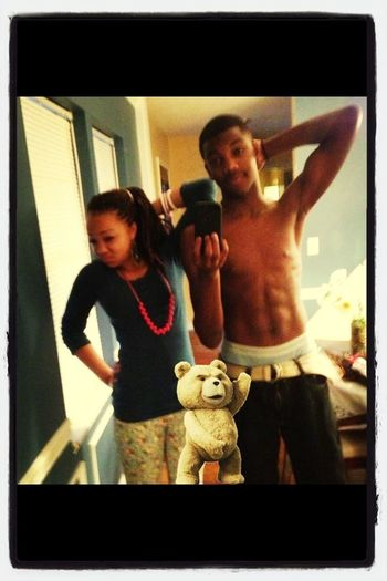 Me, My Sis And TED!!! Df Lmao