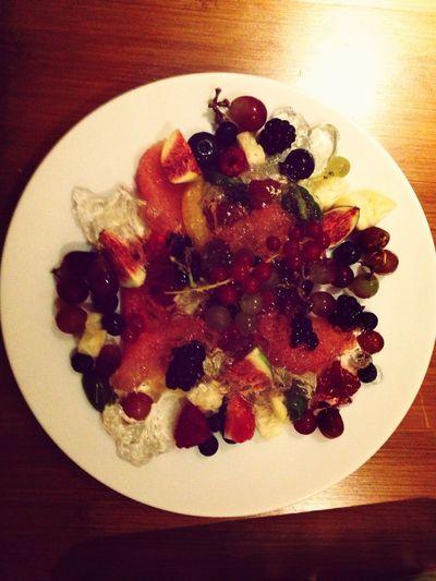 Salade de fruit pour personnel