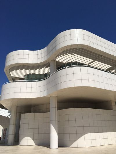 EyeAmNewHere Thegettymuseum Thegetty Architecture California Filminglocation No People Building Exterior Modern Architecture Richard Meier