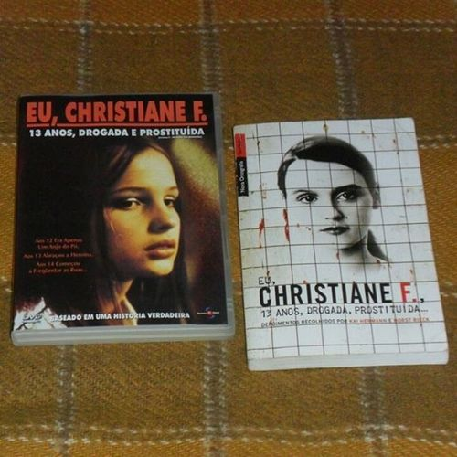 Christiane F. ChristianeF Drogas Classicosdocinema Movies classicosdaliteratura classicmovies livros DVDs davidbowie filmesclássicos
