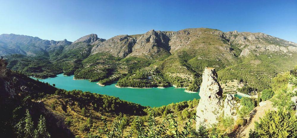Guadalest SPAIN Guadalest Nature Lake