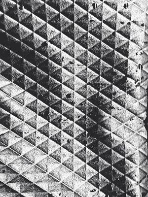 Doors Triangle Petrol Abstract