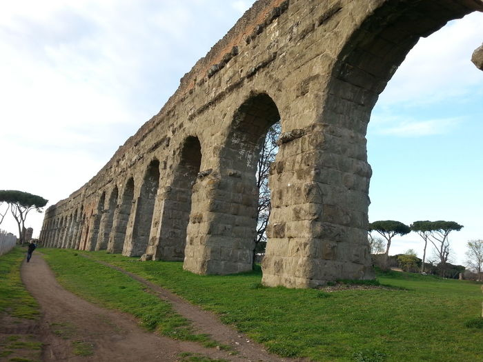 Ancient Engineering Aqueduct Park History Roman Empires Scenography Film The Great Beauty
