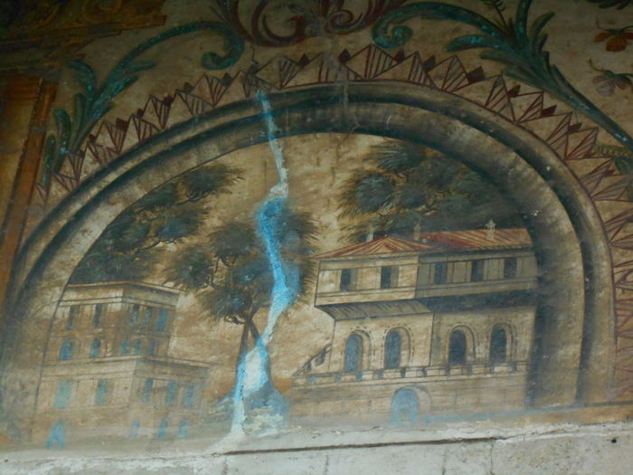 #Mosque #old Painting #wallpainting