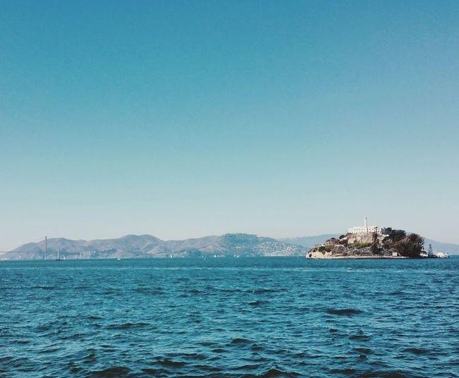 The rock Alcatraz Island Alcatraz Bayswater GoldenGateBridge Golden Gate
