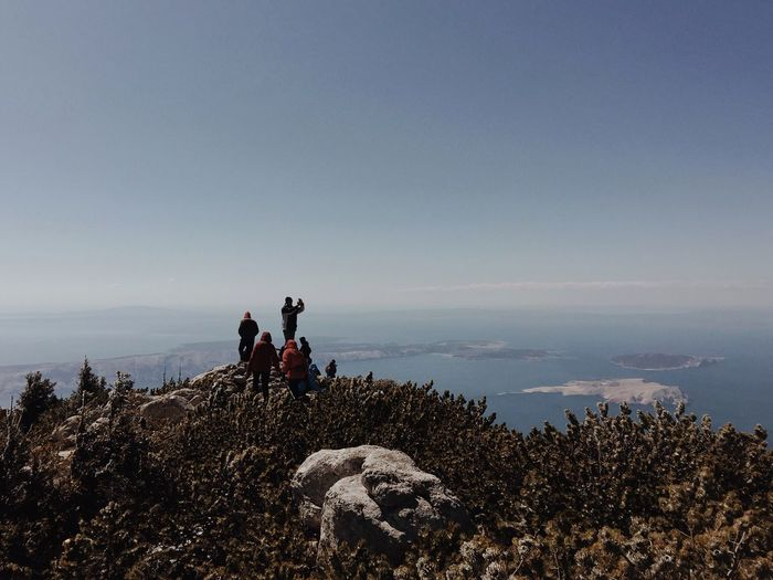View from Veliki Zavizan (1676 m) towards Kvarner bay and islands: Goli Otok, Prvic, St. Grgur, Rab, Cres and Losinj. Croatia, 2017. Veliki Zavizan Zavizan Velebit Mountain Croatia Summit Peak Summit View Nature Water Islands Horizon Over Water Rock - Object Scenics Beauty In Nature Outdoors Sea Seascape Neighborhood Map The Great Outdoors - 2017 EyeEm Awards