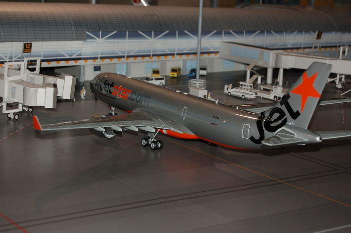Miniture Miniture Photogrpahy Airport Airplane Aircraft