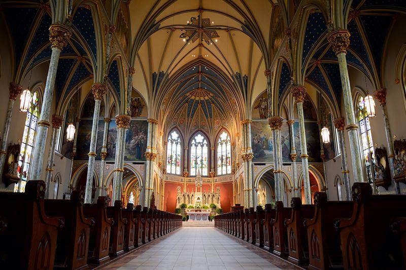 Corridor Of Church
