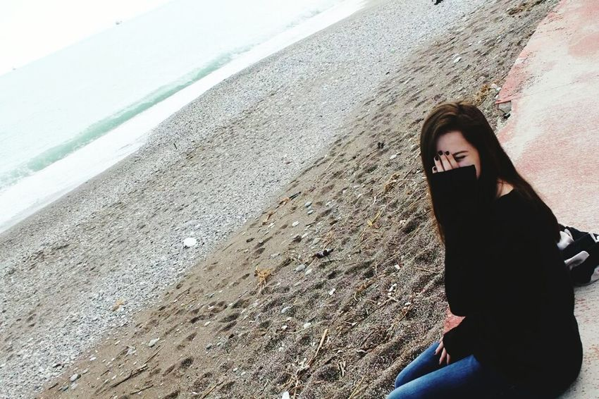 Beach Ugly Ugly Hair Ugly Smile Ugly Girl.