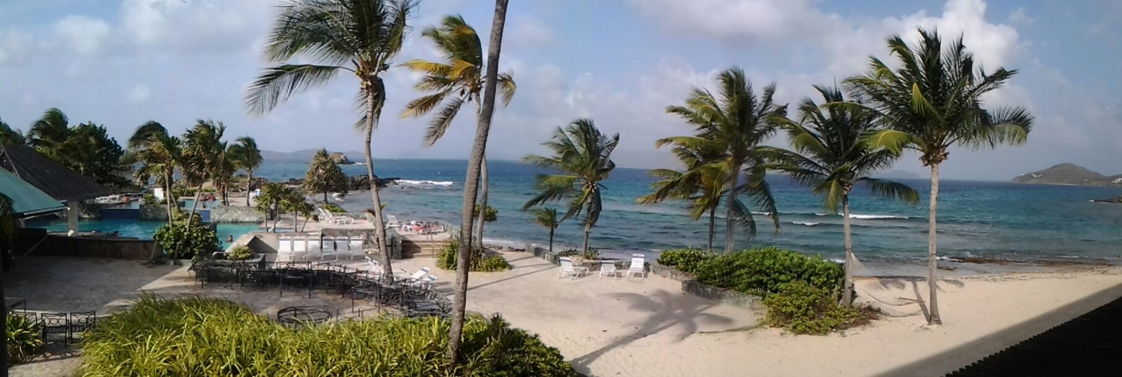 View from my room on vacation in St. Thomas USVI. Holiday Beautiful Surroundings Beach Beautiful Day Life Is A Beach Relaxing Palm Trees Vacation Islands