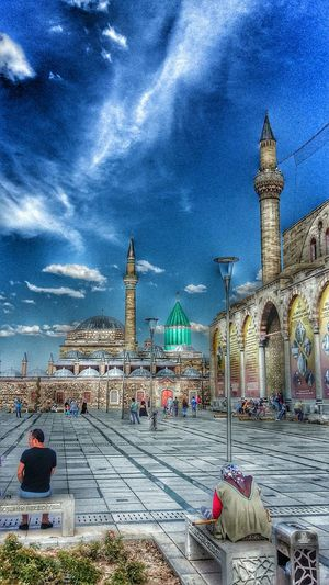 Konya Check This Out Mevlana Mosque Museum Snapseed HDR Mevlana Turkey