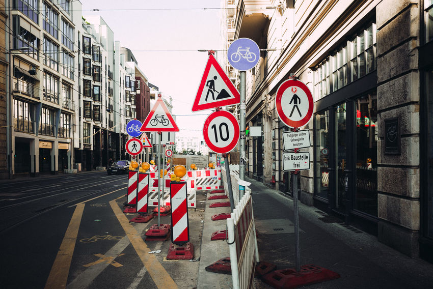 forest of signs Berlin Photography City Street Road Sign Signs Traffic Berliner Ansichten Building Building Exterior Built Structure City Information Information Sign No People Outdoors Road Road Marking Road Sign Sign Street Streetphotography Traffic Sign Transportation Urban Warning Sign #FREIHEITBERLIN