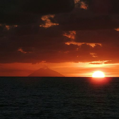 Sunset from the
