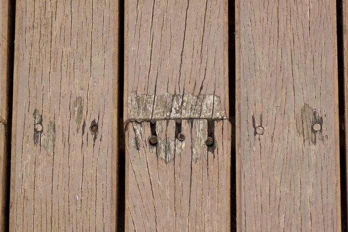 Backgrounds Decay Full Frame Nail Tack Text Textured  Wood - Material