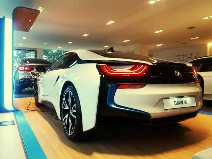 Bmw BMW I8 Electric Car Style Envirorment Friendly