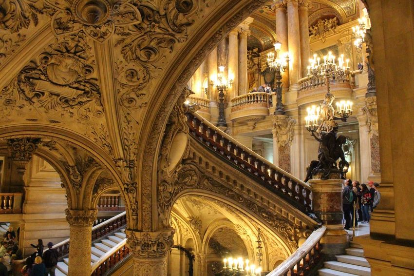 The Architect - 2016 EyeEm Awards Palais Garnier Ópera De Paris Paris France Staircase First Eyeem Photo