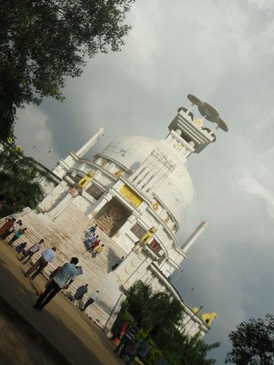 It's all about our HISTORY.which made us proud. Architecture Day Dhauli_shanti_stupa Dhauligiri Eye4photography  EyeEm Gallery EyeEmNowHere Eyem Best Shots Eyemphotography Indian Culture  Indiantemple Odisha Odisha India Odishatourism Sky Templephotography
