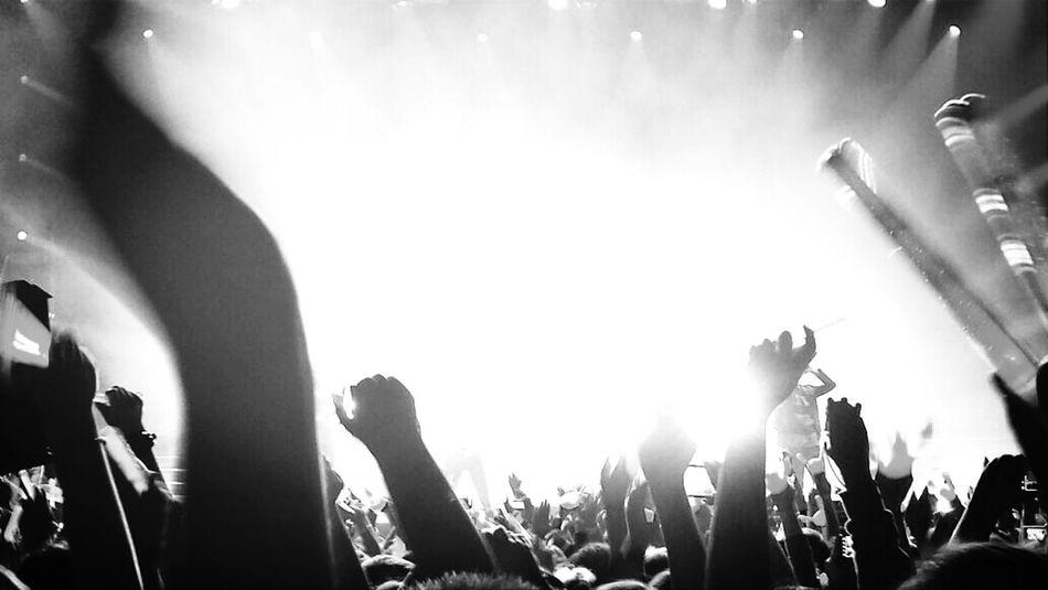 Koncert Festival Of Lights Lights Black And White