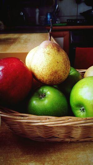 Breakfast for gods! Fruit Fruitporn Apples Colors House My Food