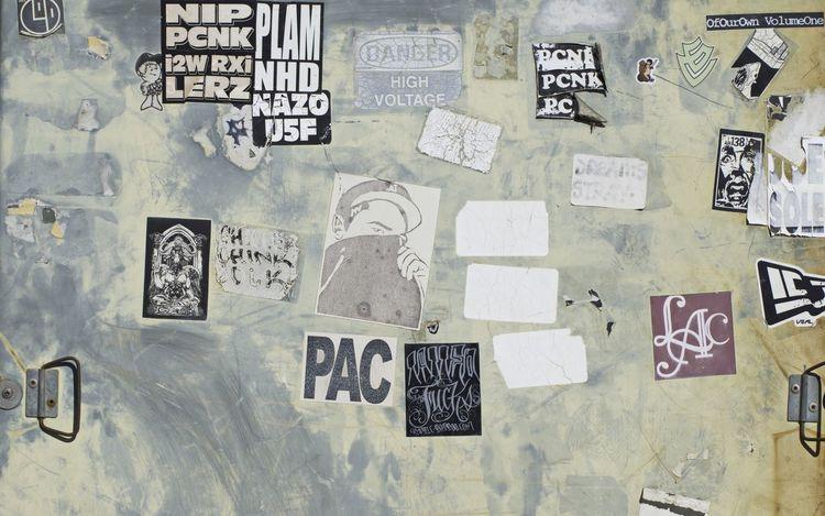 SoCal sticker graffiti D5500 Graffiti Day Close-up Outdoors