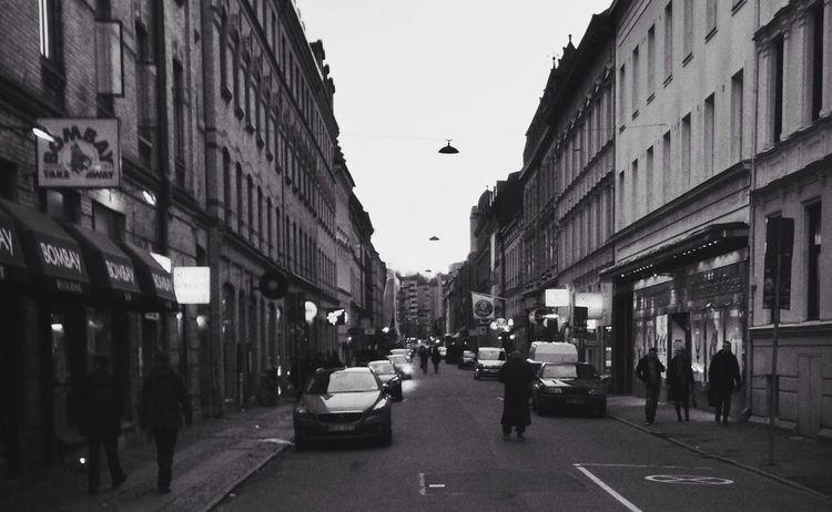 Blackandwhite Street Photography Goteborg