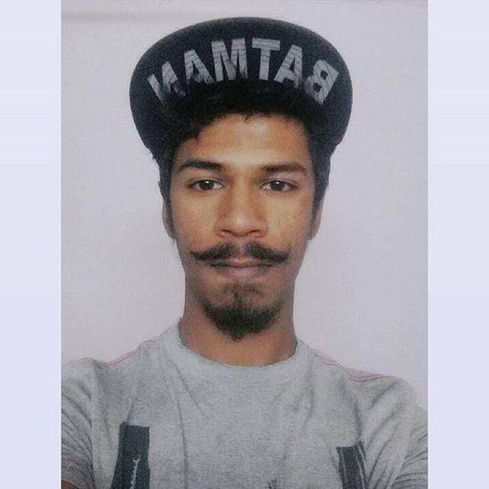 Batman Beard Mustache Cap Selfie Instapic Etc ..,