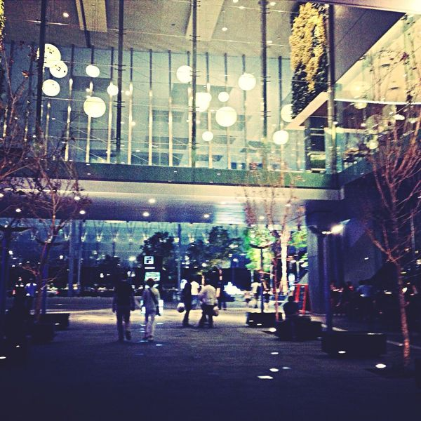 Asian square in the night Taking Photos Hello World Hanging Out Check This Out