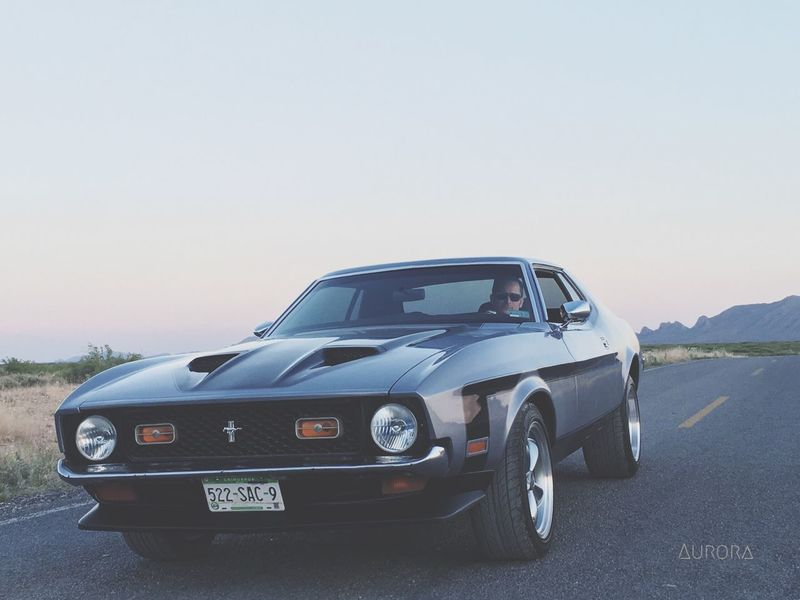 MeinAutomoment Mustang Ford Mustang Ford Road Photography Old Classic Vintage