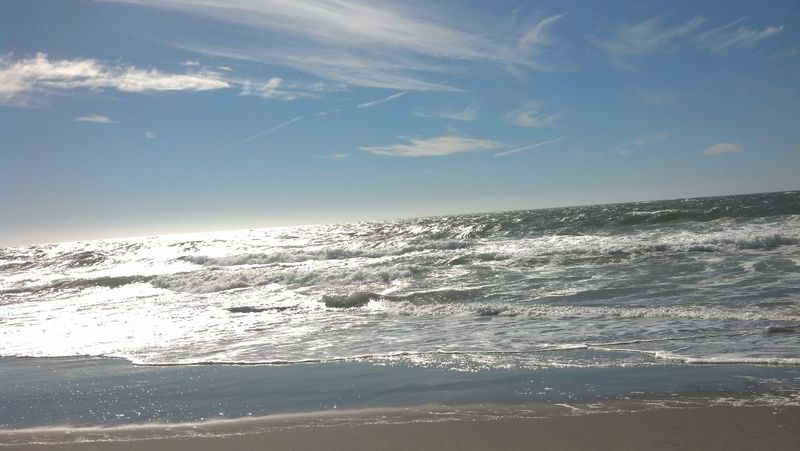 Phoneography Environment Seascapes Beauty In Nature California Water Beach Nature Ocean San Francisco Day Sky Beautiful Weather