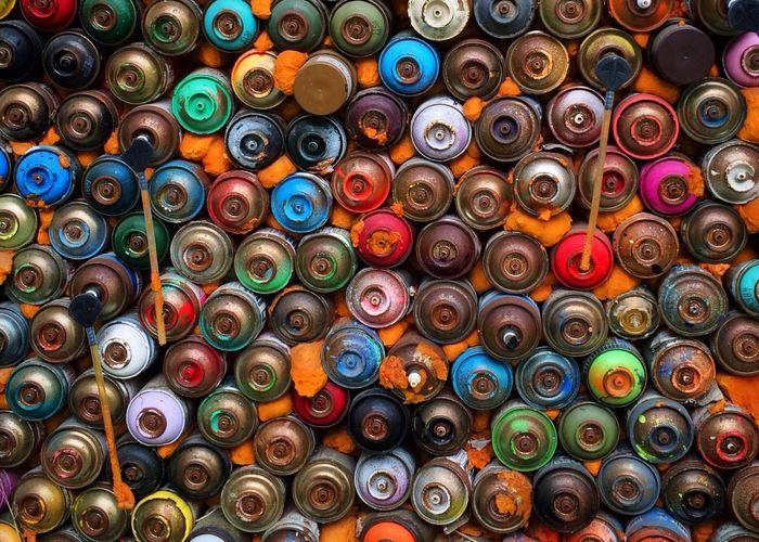 Graffiti I Love Colour Colorful Street Art