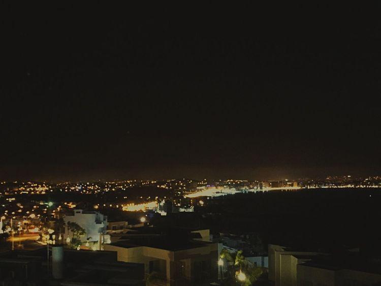 What's On The Roll 夜景 海滨 北非 地中海 夜晚 灯光 Light Night Lights 摩洛哥 Maroc Morocco Tanger