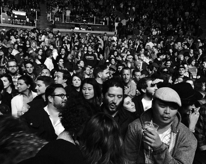 Live Music Alabama Shakes Berkeley Blackandwhite Audience