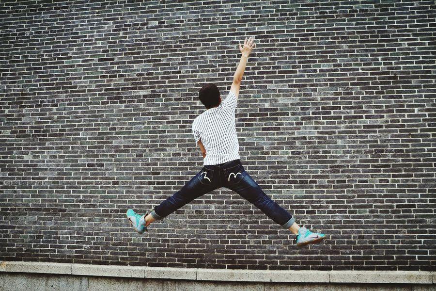 Jordan Jumping Eos760d Photo By Jie 康有为故居摄