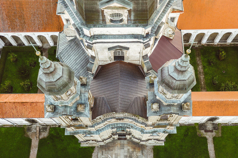 Pazaislis Monastery Drone  Aerial View Aerial Mavic 2 Mavic 2 Pro Europe Lietuva Autumn DJI X Eyeem Pazaislis Monastery Pazaislis Monestery Pažaislis Architecture Built Structure Building Exterior No People Day Building Travel Destinations History The Past Religion Representation Art And Craft Belief Outdoors Architectural Column Place Of Worship Nature Spirituality Low Angle View Sculpture Ornate