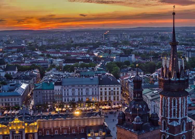 #Aerial #cracow