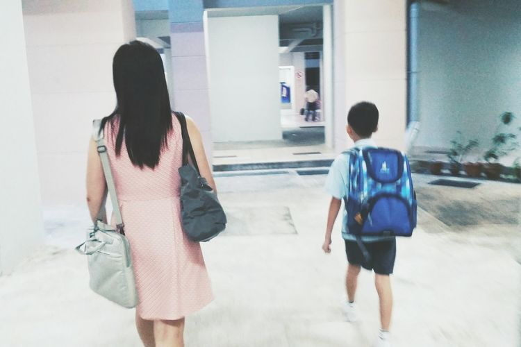 04/01/16, my boy, day 1 of School... Daily Life Daily Commute Daily Photo Taking Photos Mobilephotography Mother And Son TheWeekOnEyeEM Snapshots Of Life Capture The Moment Showcase: January My Student Life Women Who Inspire You