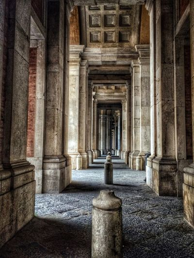 The Architect - 2017 EyeEm Awards Architectural Column Architecture History Built Structure Day Travel Destinations No People Outdoors Building Exterior Ancient Civilization Sky Reggia Di Caserta The Architect - 2017 EyeEm Awards EyeEmNewHere