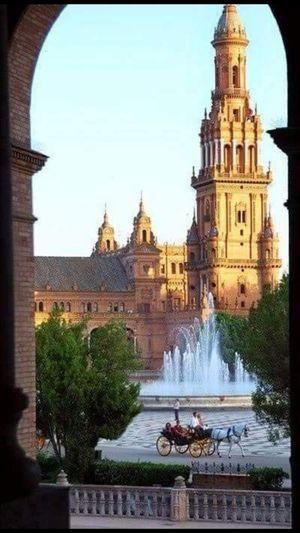 Architecture History Travel Destinations City Clear Sky Mylife❤ Sevilla Spain LoveIt ❤️ Lovemylife😘 MyCity❤️