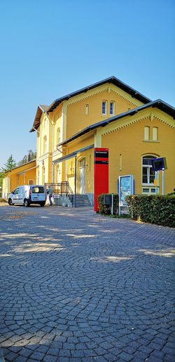 Bhf Bad Sassendorf Railway Station Old-fashioned Business Finance And Industry History Store The Past Sky Architecture Building Exterior Built Structure