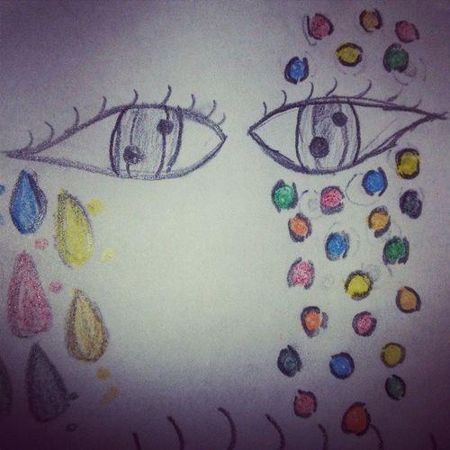 Ojos Horribles Deformes Aburrida