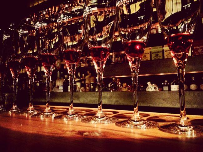Nightlife Drinks Glass Reflection