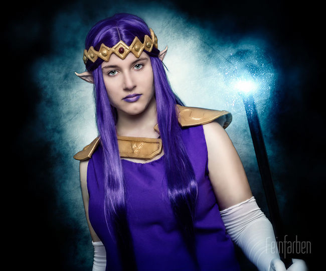 Princess Hilda from the Legend of Zelda ✨ Feinfarben Fantasy Photography Cosplay Thelegendofzelda Princess Portrait Photoshop