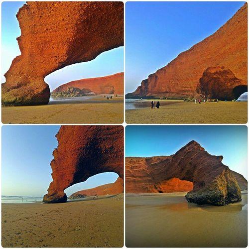 Morocco Atlantic Ocean Legzira