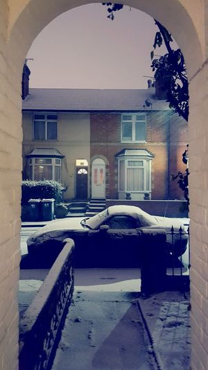 Snow View Front Door Chilly Winter White Ashford Kent Samsung S6 Colours Sky