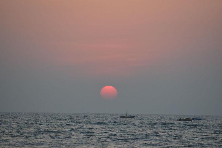 Goa Sunset Sea