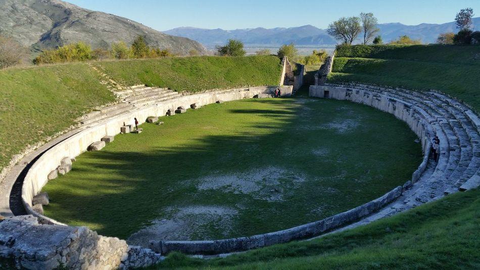 anfiteatro di Alba Fucens Alba Fucens EyeEm Best Shots Roman Archaeological Site Feel The Journey