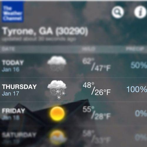 PLEASE SNOW!