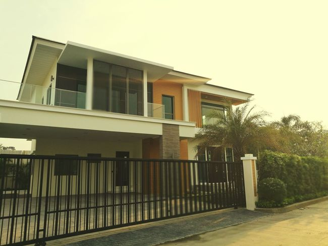 @sunrise Outdoors Day Sunrise Home Warmhouse Ecohouse Realestate