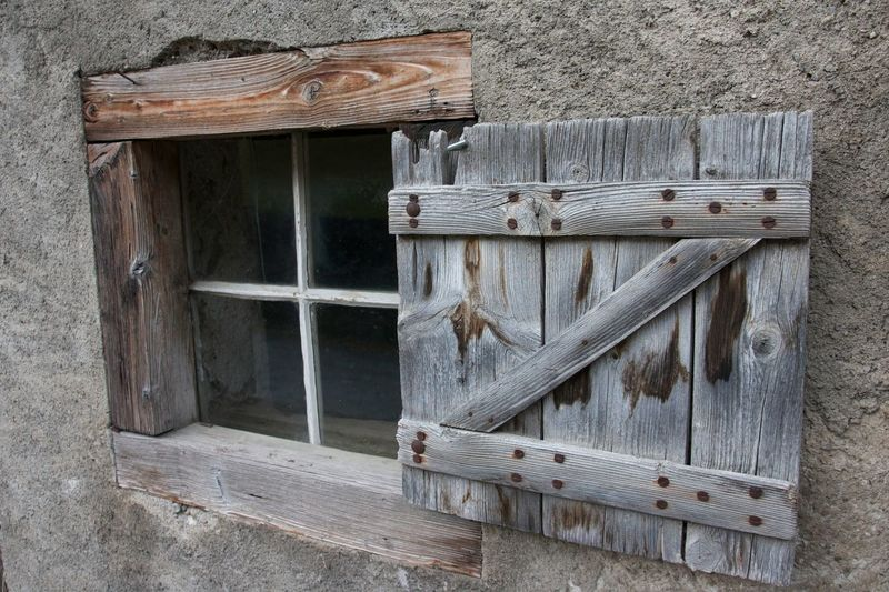 Built Structure Close-up Day No People Outdoors Shuter Wall Window Wood - Material