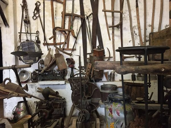 Workshop Large Group Of Objects Indoors  No People Day Shoemaker Repair Shop